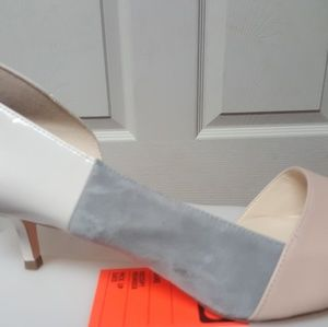 Brand new brown/grey/white nine west pointed toe p